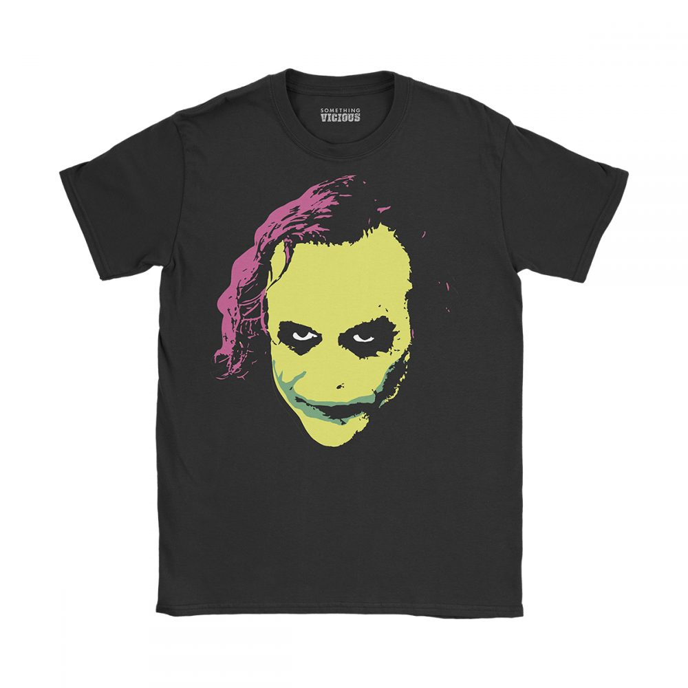 Joker Batman The Dark Knight T Shirt Black