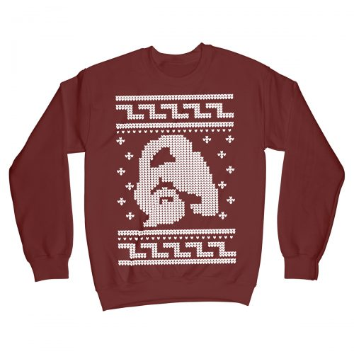 Dude The Big Lebowski Movie Christmas Jumper Xmas Sweater Red