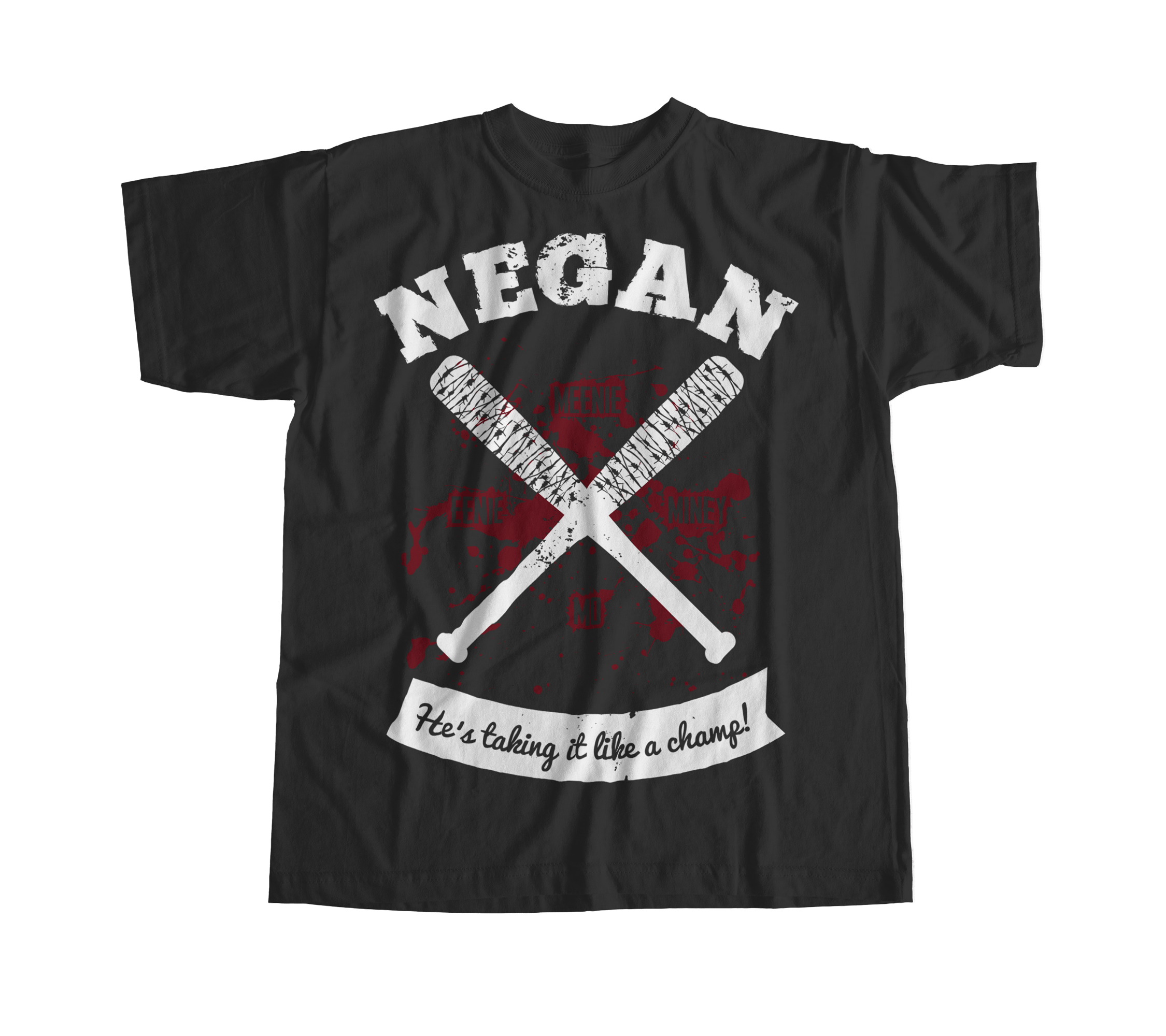 a6df9e849e39 Exclusive Walking Dead Negan Inspired T Shirt from Something Vicious