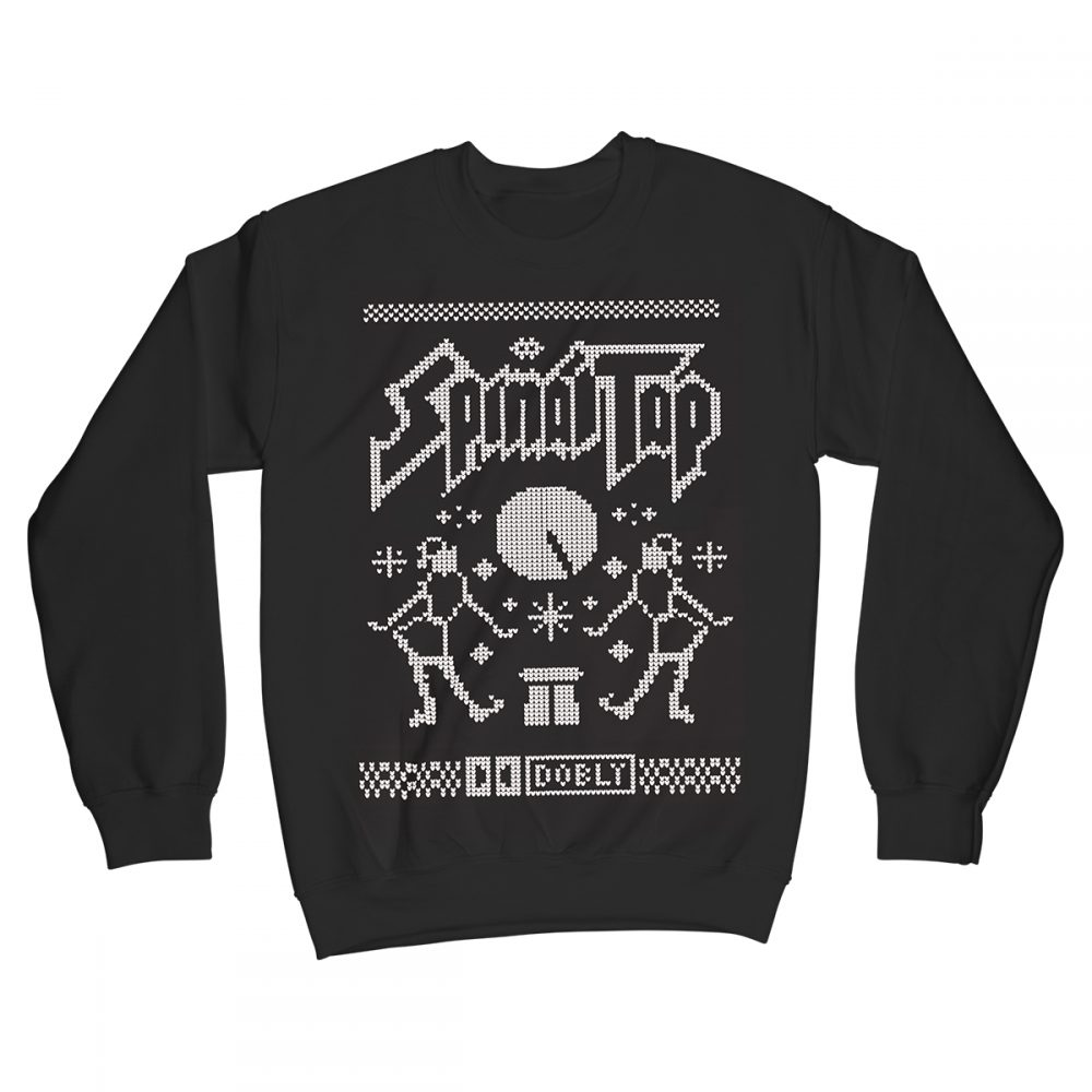 Up To 11 Spinal Tap Movie Christmas Jumper Xmas Sweater Black