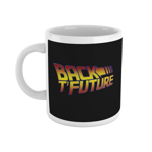 Back T'Future Yorkshire Back to the Future Mug