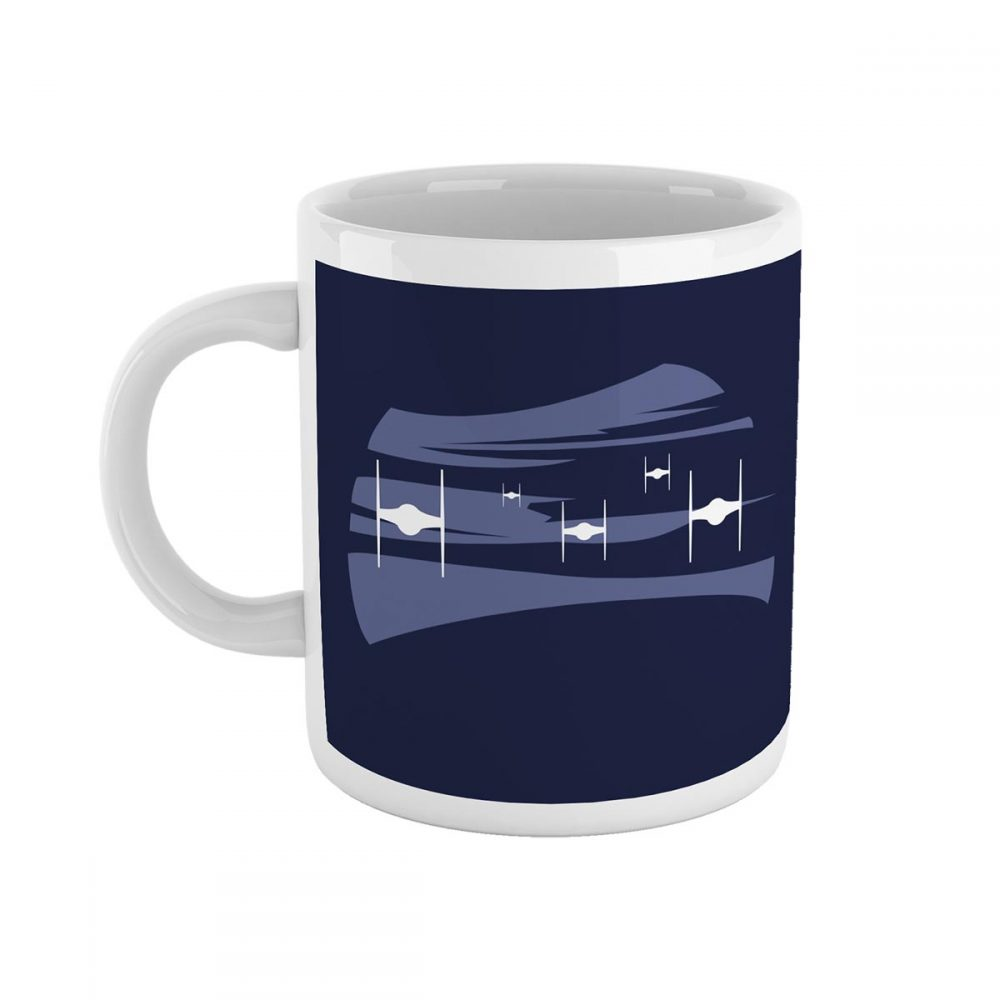 Tie Approach Star Wars Mug